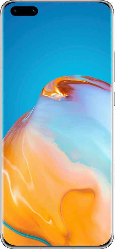 Huawei P40 Pro+ 5G Smartphone (16,7 cm/6,58 Zoll, 512 GB Speicherplatz, 50 MP Kamera, 24 Monate Herstellergarantie)