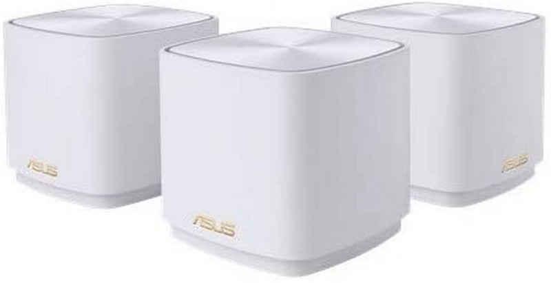 Asus »AX Mini XD4 EU+UK 3er Pack« WLAN-Router