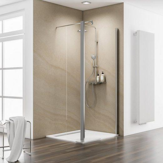 Schulte Walk-in-Dusche »MasterClass«, Einscheibensicherheitsglas
