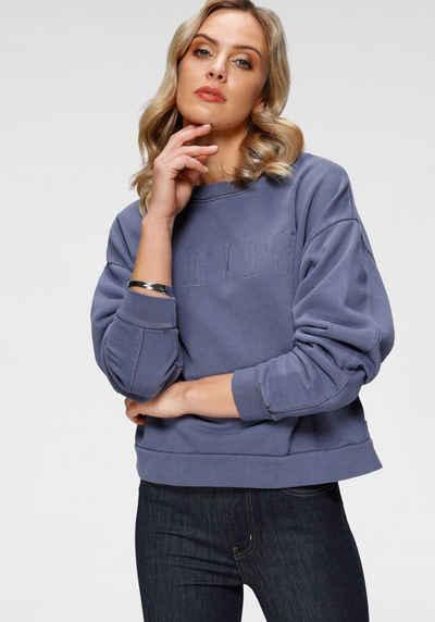 Levi's® Sweatshirt »Graphic Diana Crew« mit gesticktem großem Logo im Vorderteil