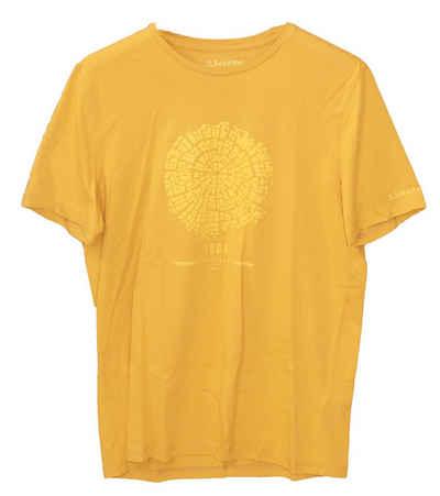 Schoeffel T-Shirt »Schöffel El Chorro2 T-Shirt weiches Herren Rundhals-Shirt mit Lichtschutzfaktor Sport-Shirt Gelb«