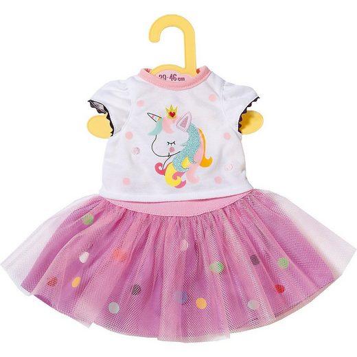 Zapf Creation® Puppenkleidung »Dolly Moda Einhorn Shirt mit Tutu 43cm«