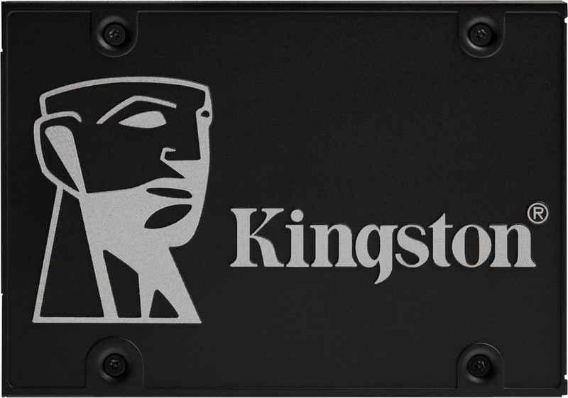 """Kingston »KC600« SSD (256 GB) 2,5"""" 550 MB/S Lesegeschwindigkeit, 500 MB/S Schreibgeschwindigkeit)"""