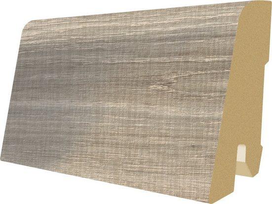 EGGER Sockelleiste »L386 - Eiche sägerau grau«, L: 240 cm, H: 6 cm