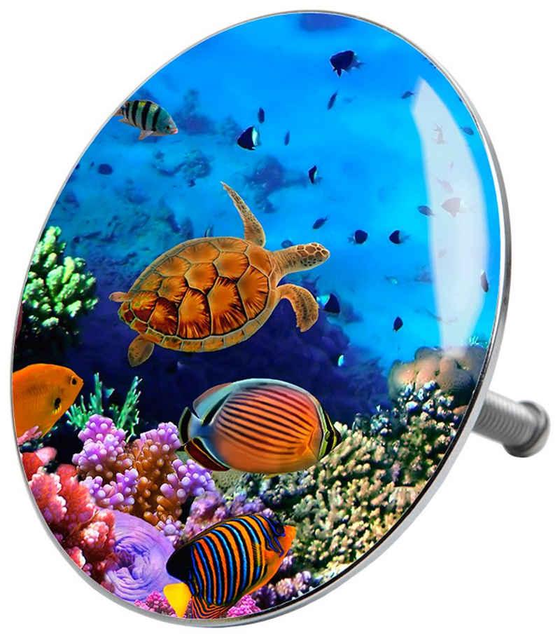 Sanilo Badewannenstöpsel »Ocean«, Ø 7,2 cm
