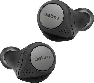 Jabra »Elite Active 75t« wireless In-Ear-Kopfhörer (Alexa, Siri, Google Assistant, Bluetooth, Spritzwasser geschüzt, ANC - Active Noise Cancellation)