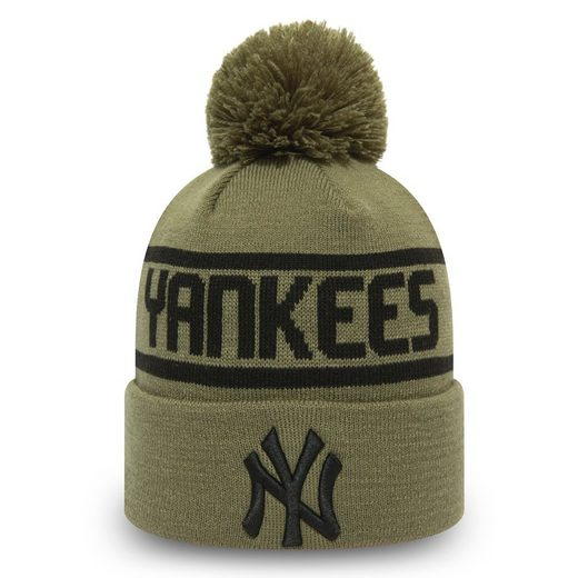 New Era Fleecemütze »Bommel Beanie New York Yankees«
