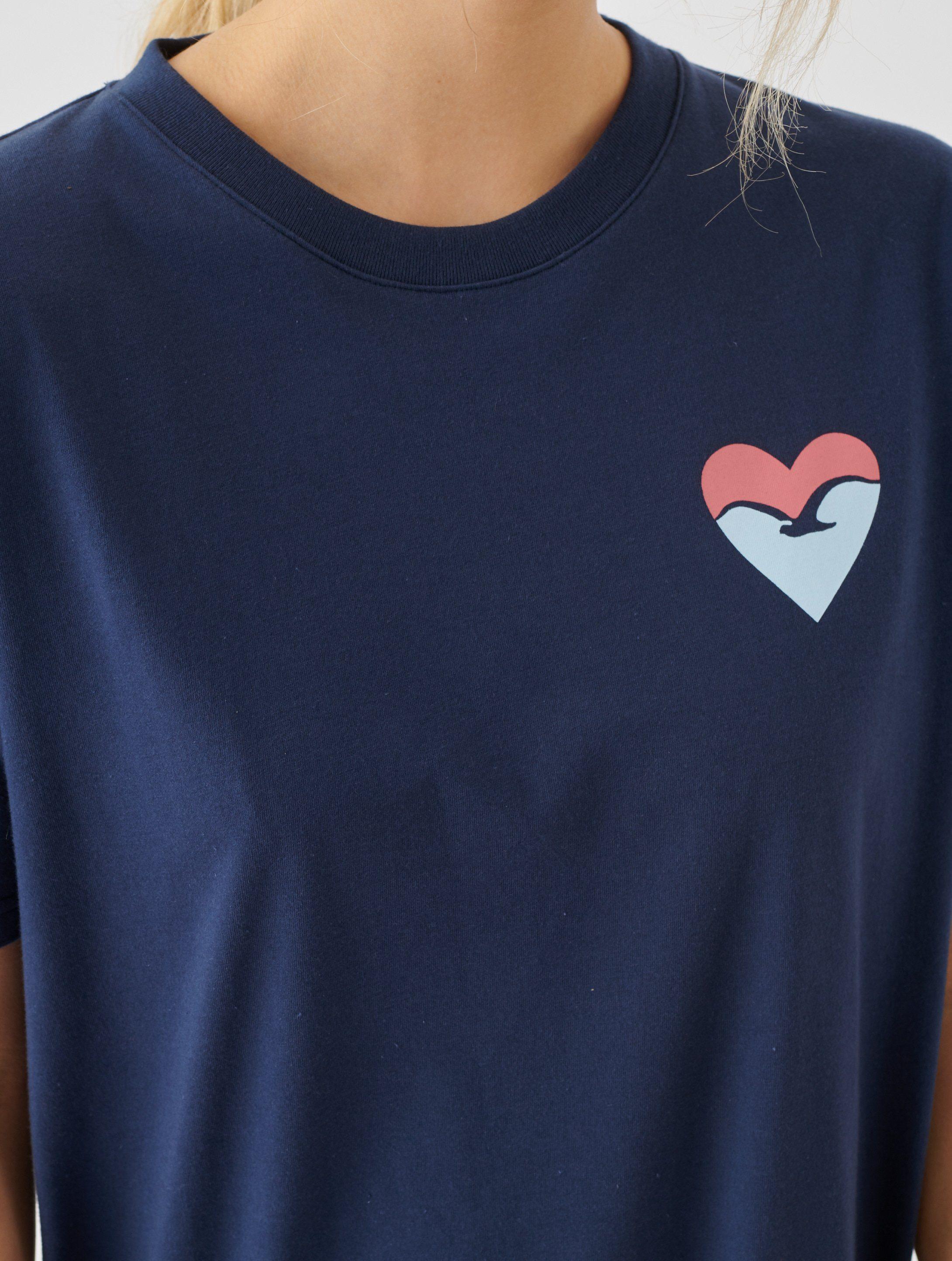 Cleptomanicx Jerseykleid Frida Heart Mit Logolabel Am Saum Online Kaufen