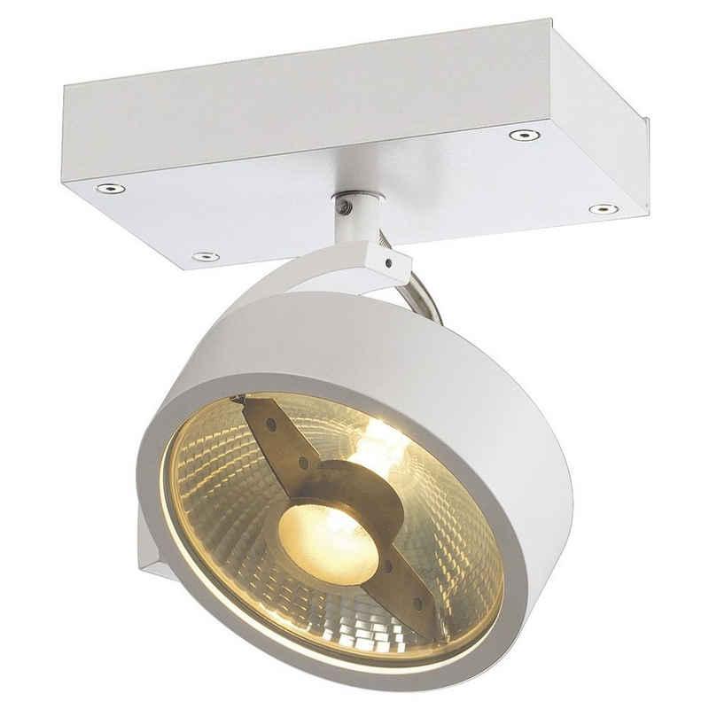 click-licht Deckenspot »Wand- und Deckenspot Kalu, GU10, weiß, 1-flammig«, Deckenstrahler, Deckenspot, Aufbaustrahler
