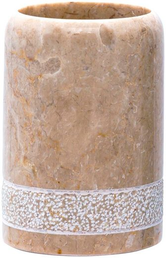 Ridder Zahnputzbecher »Posh«, (1-St), aus Marmor