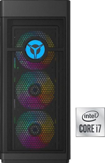 Lenovo Legion T7 34IMZ5 Gaming-PC (Intel Core i7 10700K, RTX 2080 SUPER, 32 GB RAM, 2000 GB SSD, Luftkühlung)