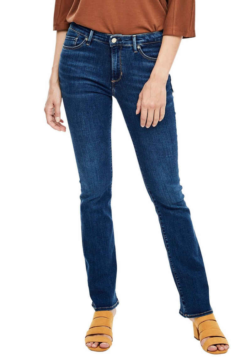 s.Oliver Bootcut-Jeans »Betsy« in cooler, authentischer Waschung