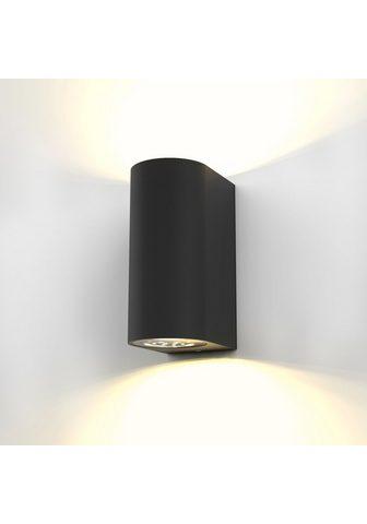 B.K.Licht LED Außen-Wandleuchte »Volans« LED lau...