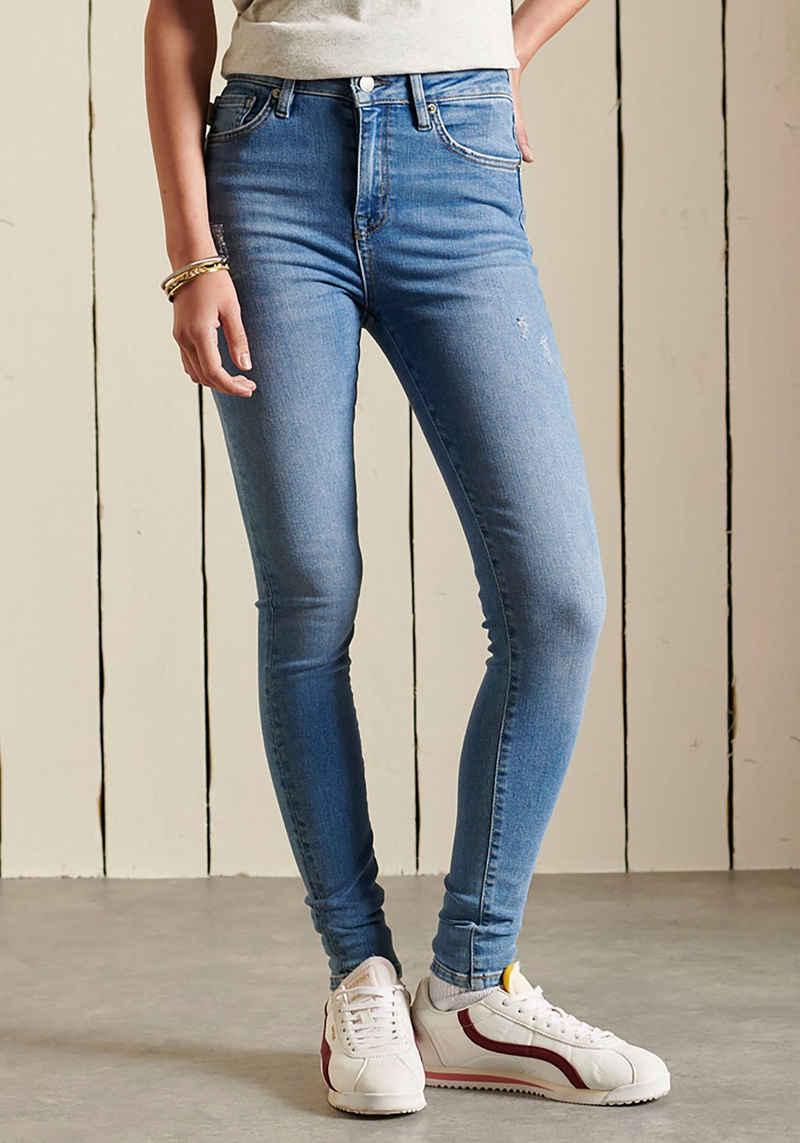 Superdry Skinny-fit-Jeans im Fünf-Taschen-Design
