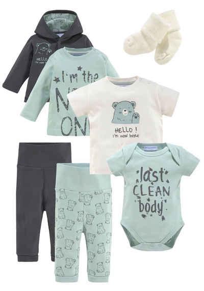 Klitzeklein Neugeborenen-Geschenkset (Set) aus Bio-Baumwolle