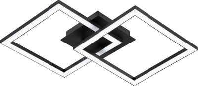 EGLO LED Deckenleuchte, minimalistische, zeitlose Form