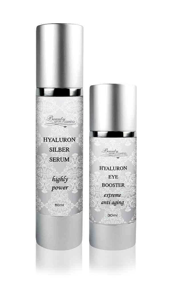 Beauty Nature Cosmetics Gesichtspflege-Set »Hyaluron Set Anti aging«, Anti Aging, Gesichtspflege, Hyaluron, Faltenpflege