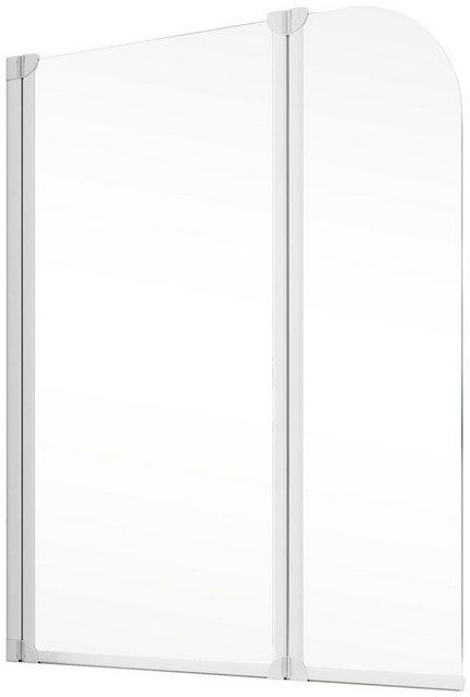 Badewannen und Whirlpools - Schulte Badewannenfaltwand »Komfort«, Einscheibensicherheitsglas, (2 tlg), Breite 115 cm  - Onlineshop OTTO