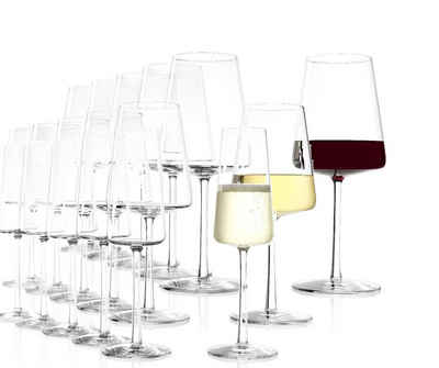 Stölzle Weinglas »Power Set 18tlg. Rotweinglas+Weißweinglas+Champang«, Glas