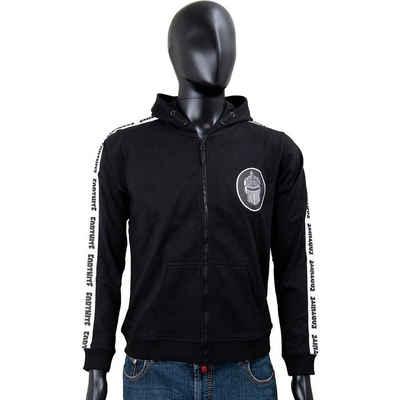 Fortnite Sweatshirt »Hoodie Logo black+wh. stripe 176cm«