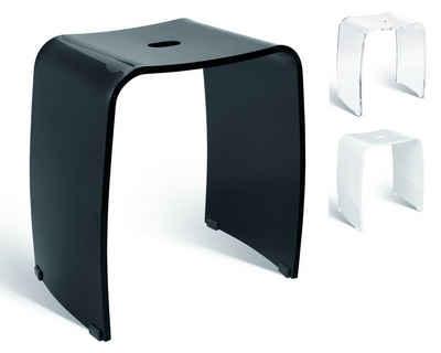 Libaro Dusch- und Badhocker Meran, belastbar bis 180 kg, sehr stabil, für die Dusche geeignet, rutsch- und standfest