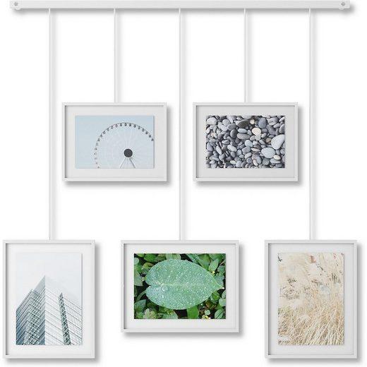 """Umbra Bilderrahmen »5 tlg. Bilderrahmen-Set """"Exhibit Foto Collage""""«"""