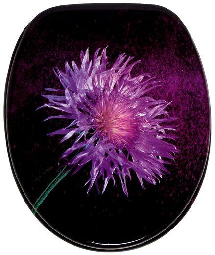 Sanilo WC-Sitz »Purple Dust«, mit Absenkautomatik