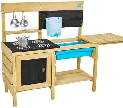 50NRTH Outdoor-Spielküche »Deluxe« Holz, mit Zubehör 40x136x96 cm