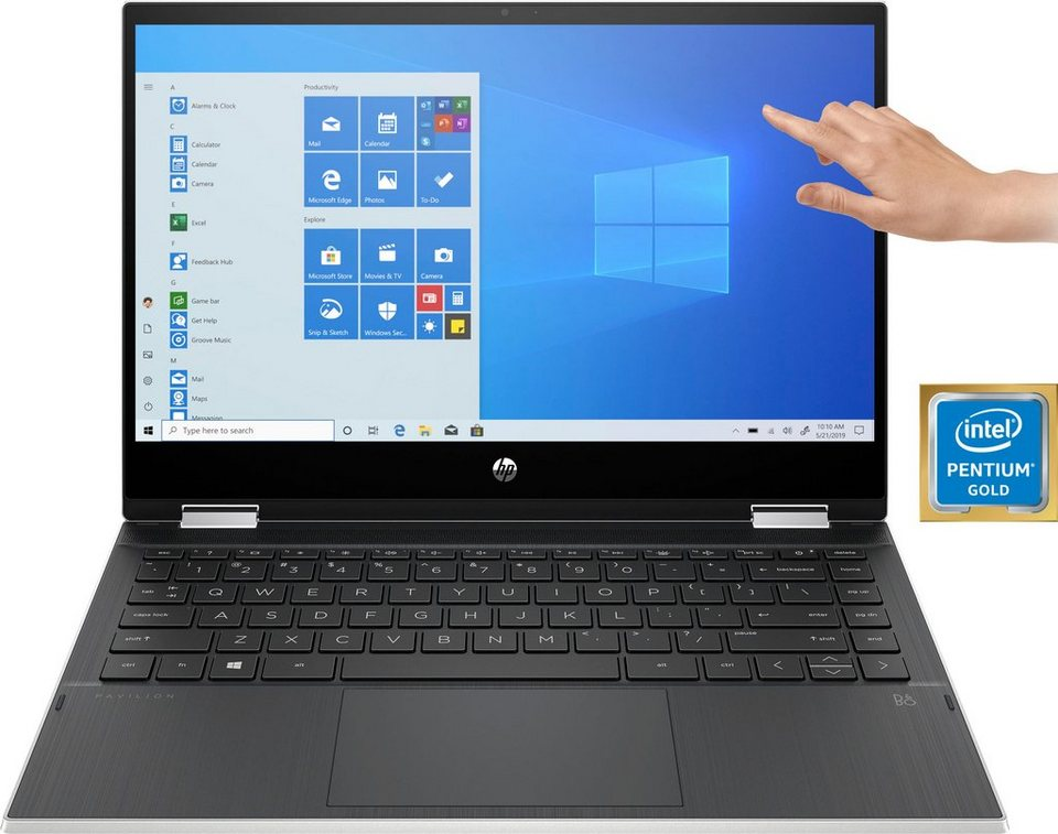 HP 14-dw1210ng Convertible Notebook (35,6 cm/14 Zoll