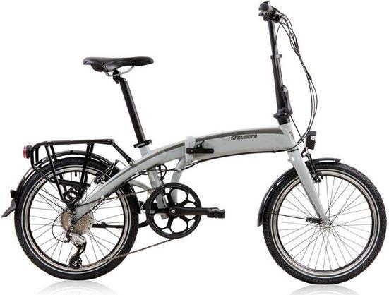 Tretwerk E-Bike »Wega«, 8 Gang Shimano Shimano Acera Schaltwerk, Kettenschaltung, Heckmotor 250 W