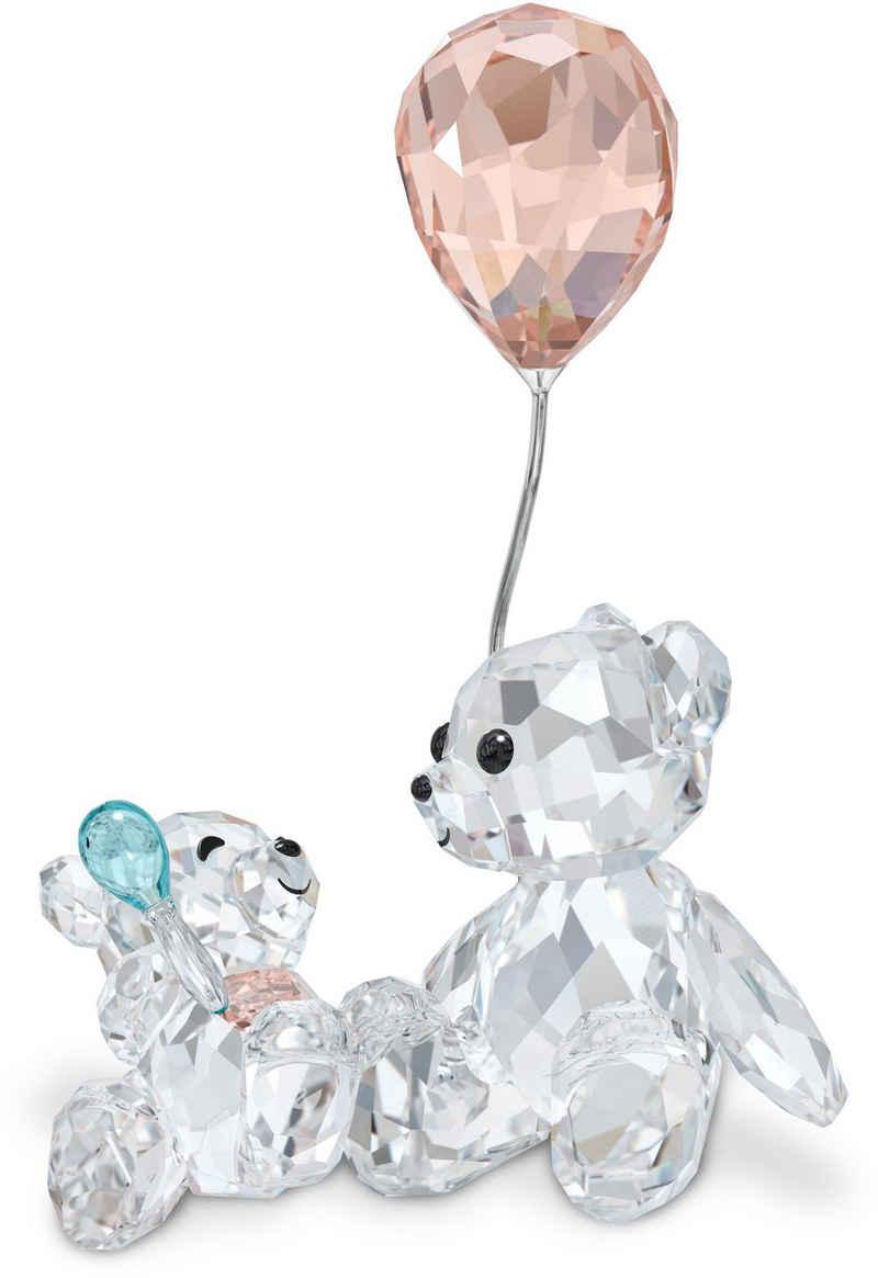 Swarovski Dekofigur »My Little Kris Bear Mutter & Baby, 5557542« (1 Stück), Swarovski® Kristall mit schwarzem Emaille