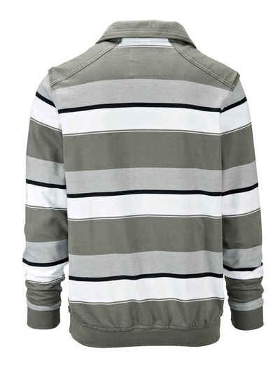 Babista Sweatshirt mit Kontrastpaspelierung