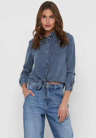 Only Jeansbluse »ONLLECEY«