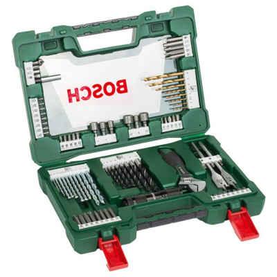 BOSCH Bohrer- und Bit-Set »Bitsatz Bohrerset V-Line Box. 83-teilig«