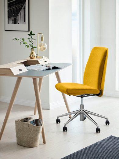 Stressless® Schreibtischstuhl »Laurel«, Low Back, Größe L, mit Home Office Gestell in Chrom glänzend