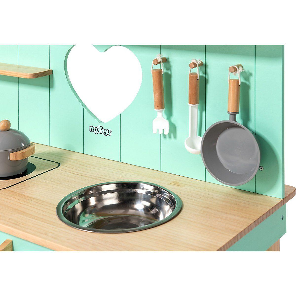 Spielküche MYTOYS MATSCHKÜCHE, In- und Outdoor Holz von MYTOYS - tolle Details