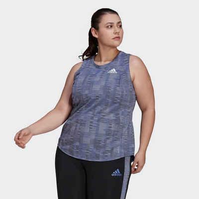 adidas Performance Shirttop »Primeblue Running Tanktop – Große Größen«