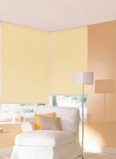 Seitenzugrollo nach Maß »Premiumstyle Blackout«, sunlines, Lichtschutz, freihängend, feste Höhe 180 cm
