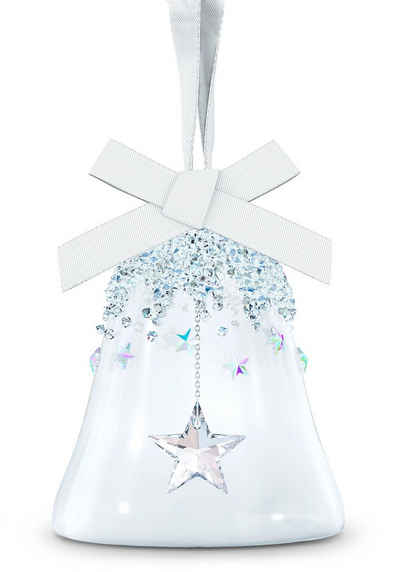 Swarovski Dekofigur »Weihnachtsglocke, Stern klein, 5545500« (1 Stück), Swarovski® Kristall