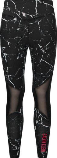 Calvin Klein Performance Leggings »FULL LENGTH TIGHT« mit Grafitti-Print & Calvin Klein Logo-Schrfitzug