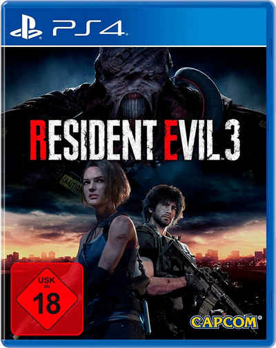 PS4 Resident Evil 3 PlayStation 4