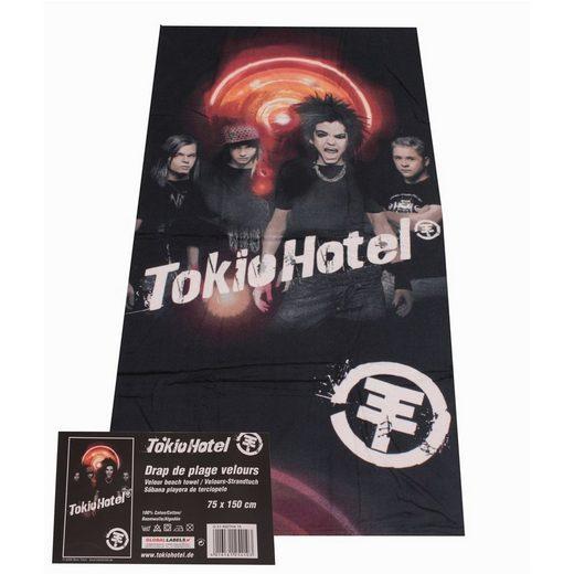 HTI-Living Strandtuch »Strandtuch Tokio Hotel Schrei« (1-St), weiche Baumwolle
