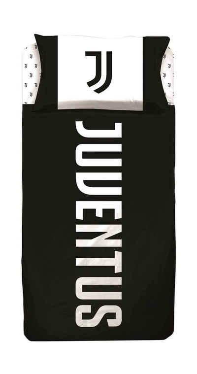 Bettwäsche »Juventus Turin - Kinder-Bettwäsche, 135x200 & 80x80 cm«, Juventus Turin, 100% Baumwolle