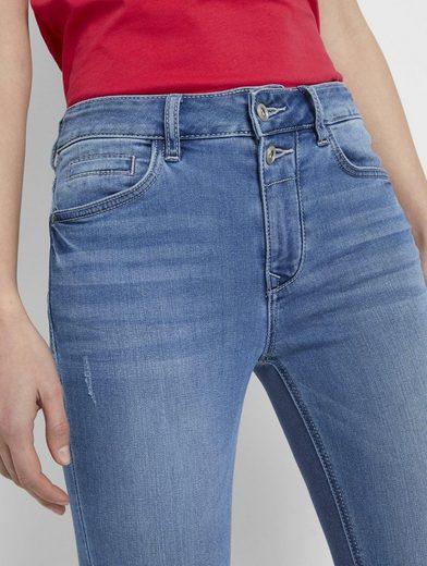 TOM TAILOR Slim-fit-Jeans  Kate Slim Jeans in Ankle-Länge