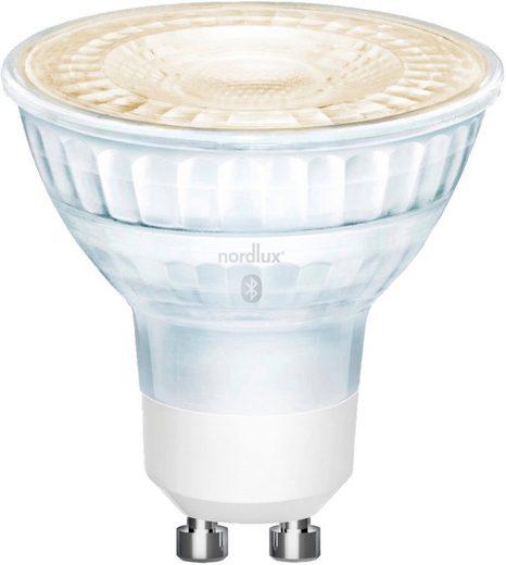Nordlux »Smartlight« LED-Leuchtmittel, GU10, 3 Stück, Farbwechsler, Smart Home Steuerbar, Lichtstärke, Lichtfarbe, mit Wifi oder Bluetooth