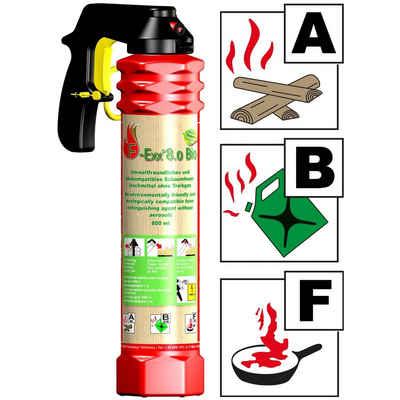 F-Exx Schaum-Feuerlöscher »F-Exx 8.0 Bio - Der umweltfreundliche Allround-Feu«, Elastomer-Kraftkörper (kein Treibgas)