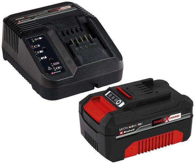 Einhell Starter-Kit Power X-Change Akku-Set 18,0 V , 4,0 Ah, 18 V
