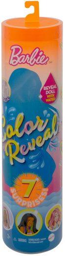Mattel® Anziehpuppe »Barbie Color Reveal, Outdoor«, Überraschungs-Set