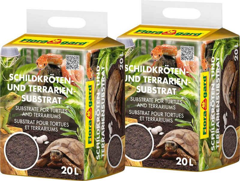 Floragard Terrarien-Substrat »Schildkrötensubstrat«, (2-St), 2x20 Liter