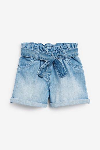 Next Shorts »Paperbag-Shorts mit Bindegürtel«